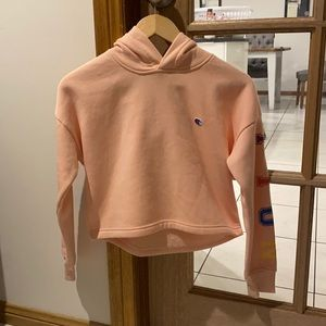 Champion pink cropped jumper